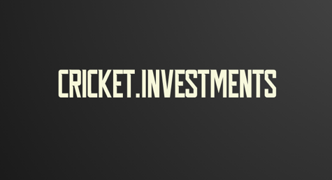 CRICKET.INVESTMENTS
